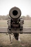 Mirada abajo de barril del cañón Imagen de archivo libre de regalías