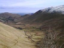 Mirada abajo del valle de Boredale Fotos de archivo