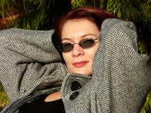 Mirada atractiva Foto de archivo