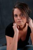 Mirada atractiva de la mujer joven Imagen de archivo libre de regalías