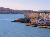 Mirada de la azada de Plymouth Imagen de archivo libre de regalías