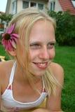 Mirada de la flor foto de archivo