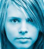 Mirada de la muchacha Fotos de archivo