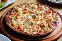 Mirada de la pizza sabrosa Foto de archivo