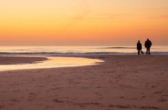 Mirada de la puesta del sol Imagenes de archivo