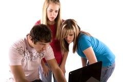 Mirada de las adolescencias Fotografía de archivo