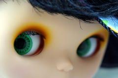Mirada de los ojos Fotografía de archivo