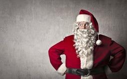Mirada de Papá Noel fotografía de archivo