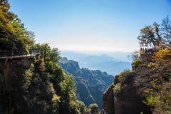Mirada del acantilado Imagenes de archivo