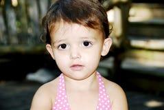 Mirada del bebé Imagenes de archivo