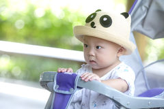 Mirada del bebé Fotos de archivo libres de regalías