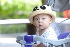 Mirada del bebé Fotografía de archivo
