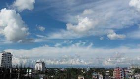 Mirada del cielo en sylhet Imagen de archivo libre de regalías