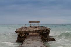Mirada del mar Fotografía de archivo libre de regalías