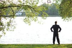 Mirada del río Imagenes de archivo
