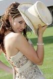 Mirada del sombrero Imagen de archivo