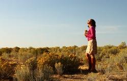 Mirada hacia cielo Fotografía de archivo libre de regalías