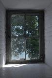 Mirada hacia fuera de la ventana Foto de archivo libre de regalías