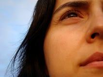 Mirada infinita Foto de archivo libre de regalías