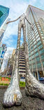 Mirada para arriba de Manhattan Imagen de archivo libre de regalías