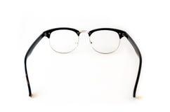 Mirada retra del inconformista de los vidrios del ojo morado aislada en el backgroun blanco Fotos de archivo libres de regalías