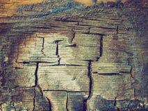Mirada retra quemada de madera Imagen de archivo libre de regalías