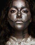 Mirada seria de las mujeres Imagen de archivo libre de regalías