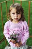 Mirada sincera del niño Imagenes de archivo