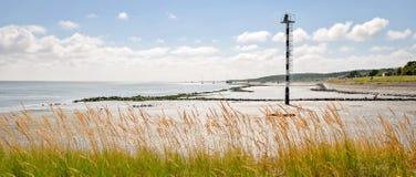 Mirada sobre el mar de Wadden de Vlieland Imágenes de archivo libres de regalías