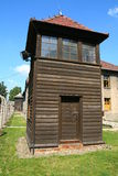 Mirador Auschwitz Photo libre de droits