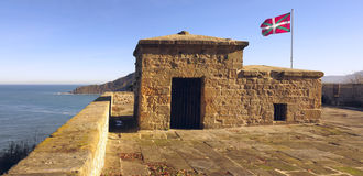 The Mirador Battery of Mount Urgull. Stock Photos