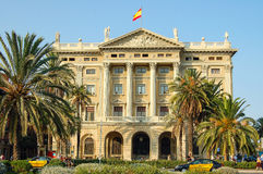 On the Mirador de Colom - Barcelona Royalty Free Stock Photography