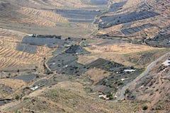 Mirador DE Haria (Gezichtspunt), Lanzarote, Canarische Eilanden. Stock Fotografie