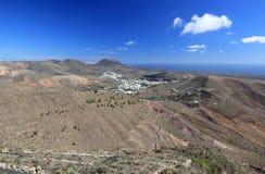 Mirador de Haria (punto di vista), Lanzarote, isole Canarie. Immagini Stock