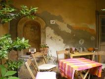 mirador de Italia en Toscana Foto de archivo libre de regalías