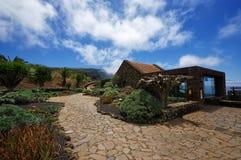 Mirador de la Pena i El Hierro, kanariefågel Royaltyfria Bilder