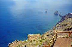 Mirador de la Pena i El Hierro, kanariefågel Royaltyfri Bild