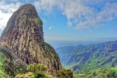 Mirador de los Roques, Ла Gomera Стоковое Изображение