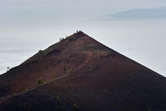 Mirador de Montana Cabrito, La Palma Imagenes de archivo