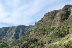 Mirador De Tajaque, widok w dolinę Fotografia Royalty Free