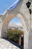 Mirador de Yanahuara arequipa peru Lizenzfreie Stockbilder