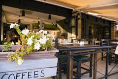 Mirador del café Fotografía de archivo