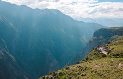 Mirador Del Condor - Colca Canyon - Peru Royalty Free Stock Images