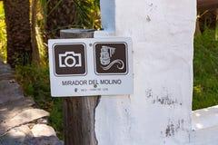 Mirador del Molino Royalty Free Stock Photography