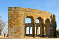 Mirador dels Apostols in Montserrat Stock Photography