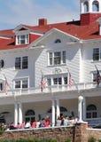 Mirador en de Stanley Hotel Fotografía de archivo libre de regalías