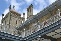 Mirador en el castillo Foto de archivo libre de regalías
