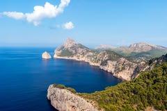 Mirador es Colomer in Cap de Formentor - Mallorca, Spain stock image