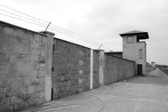 Mirador of Nazi concentration camp Royalty Free Stock Image
