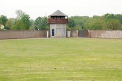 Mirador of Nazi concentration camp Royalty Free Stock Photos